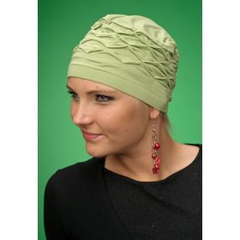 Zielony-turban-Justyna-po-chemioterapii-dla-amazonek