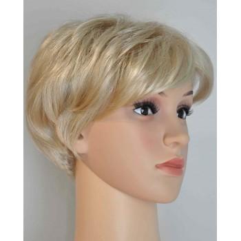 Krótka-peruka-jasny-blond-z-grzywką